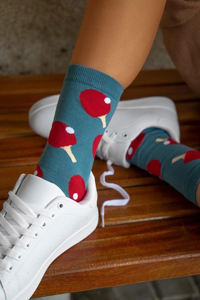Ψηλές Κάλτσες Ping Pong