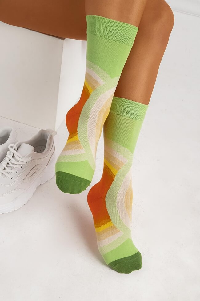 Ψηλές Κάλτσες Πολύχρωμες