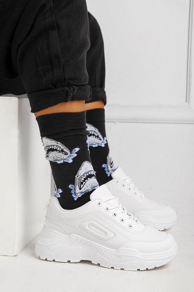 Ψηλές Κάλτσες Shark