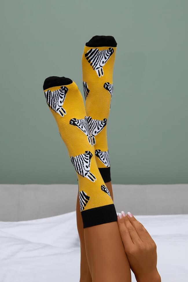 Ψηλές Κάλτσες Zebra