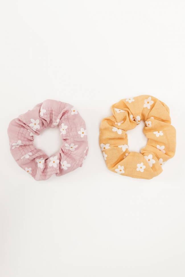 Scrunchies Daisies