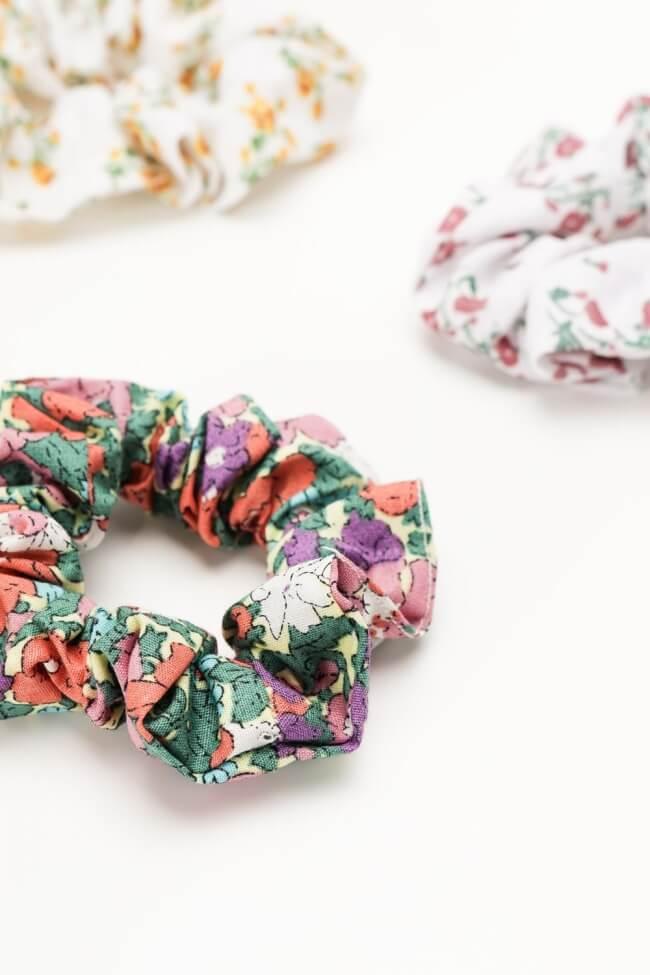 Scrunchies Floral