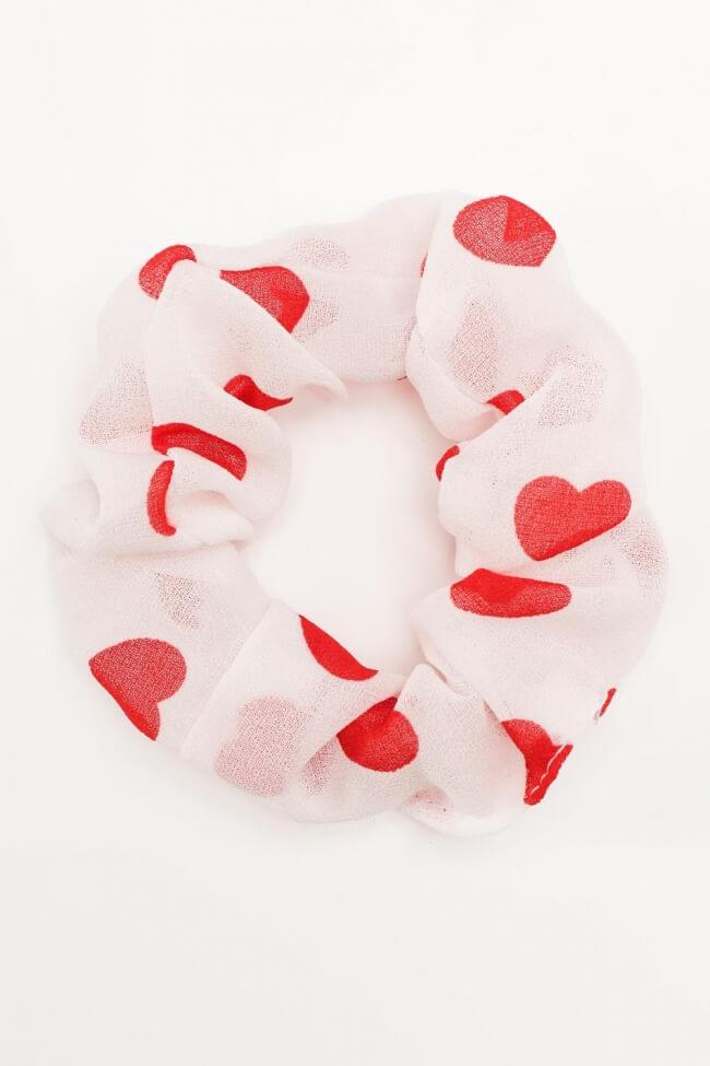 Scrunchies με Καρδούλες