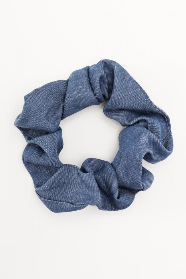 Scrunchies Μπλε Jean Effect