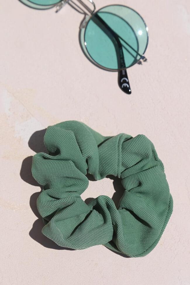 Scrunchies Ριπ Μονόχρωμα