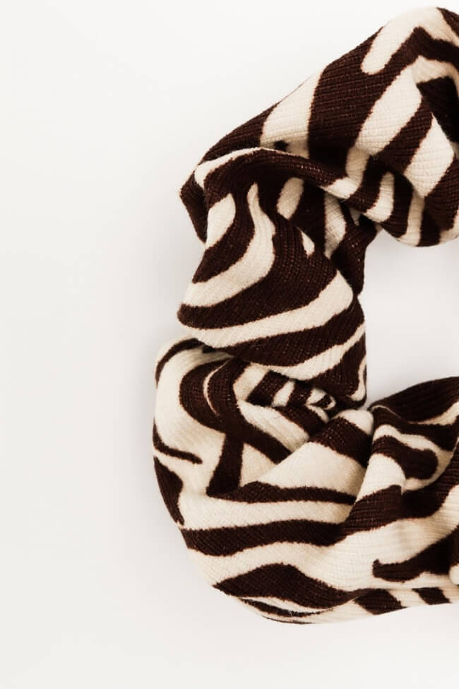 Scrunchies Zebra Print