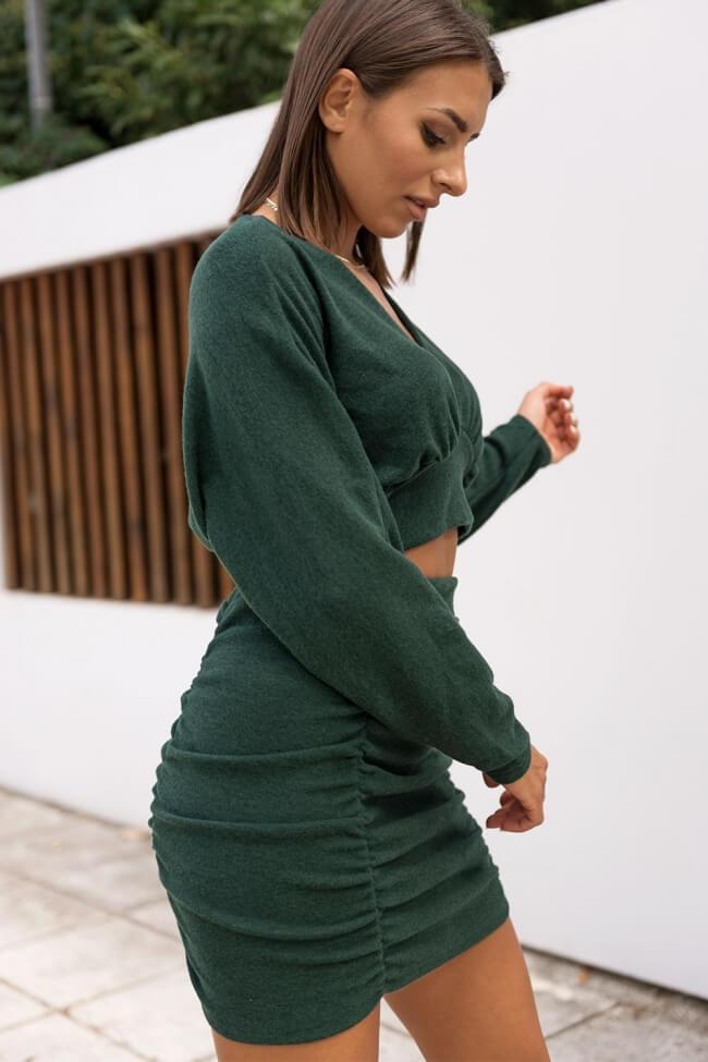 Σετ Φούστα & Μπλούζα Crop Top
