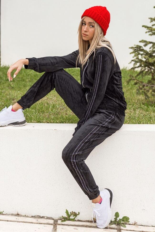 Σετ Ζακέτα & Παντελόνι Velvet