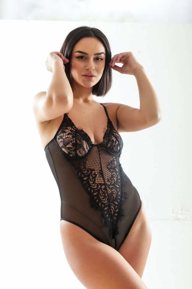Sexy Κορμάκι με Δαντέλα