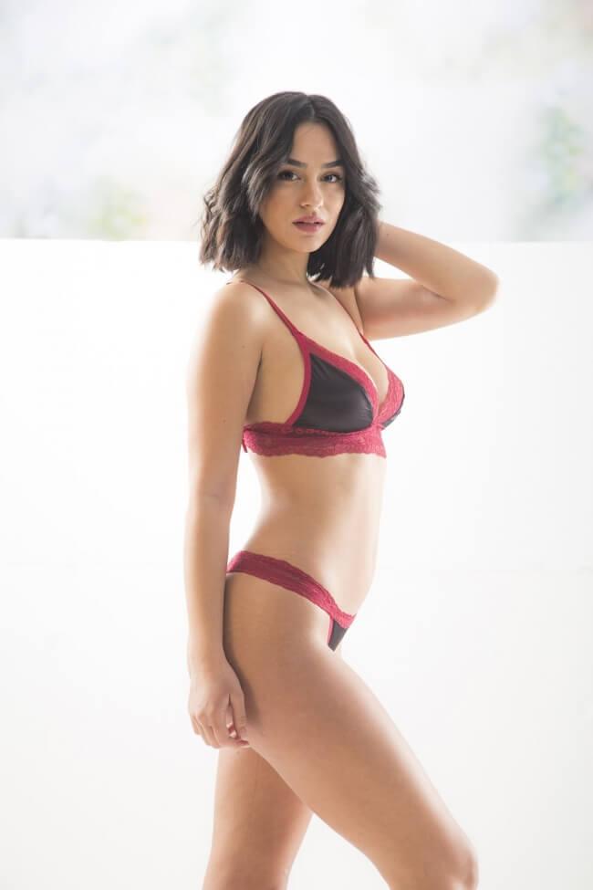 Sexy Σετ Εσωρούχων με Δαντέλα