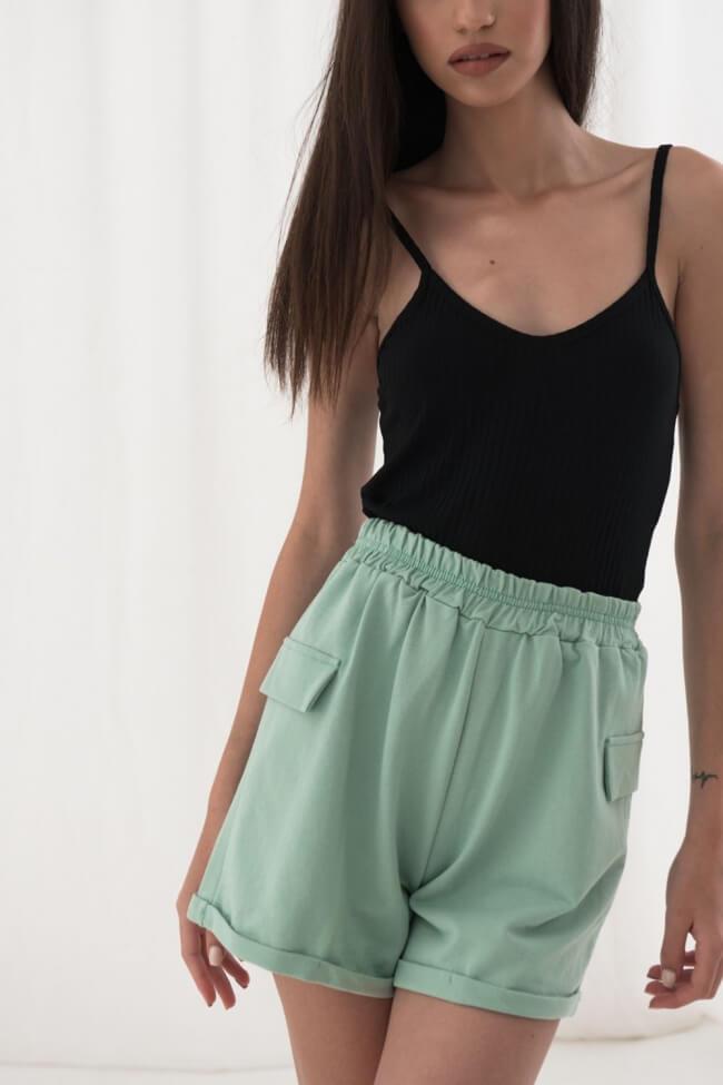 Shorts με Τσέπες