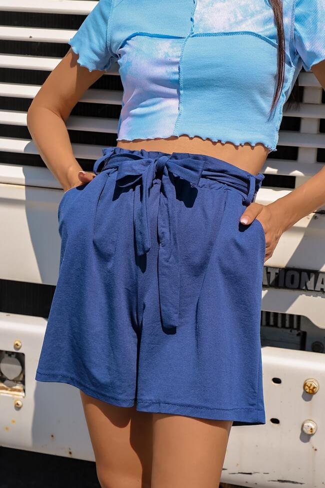 Shorts με Ζώνη
