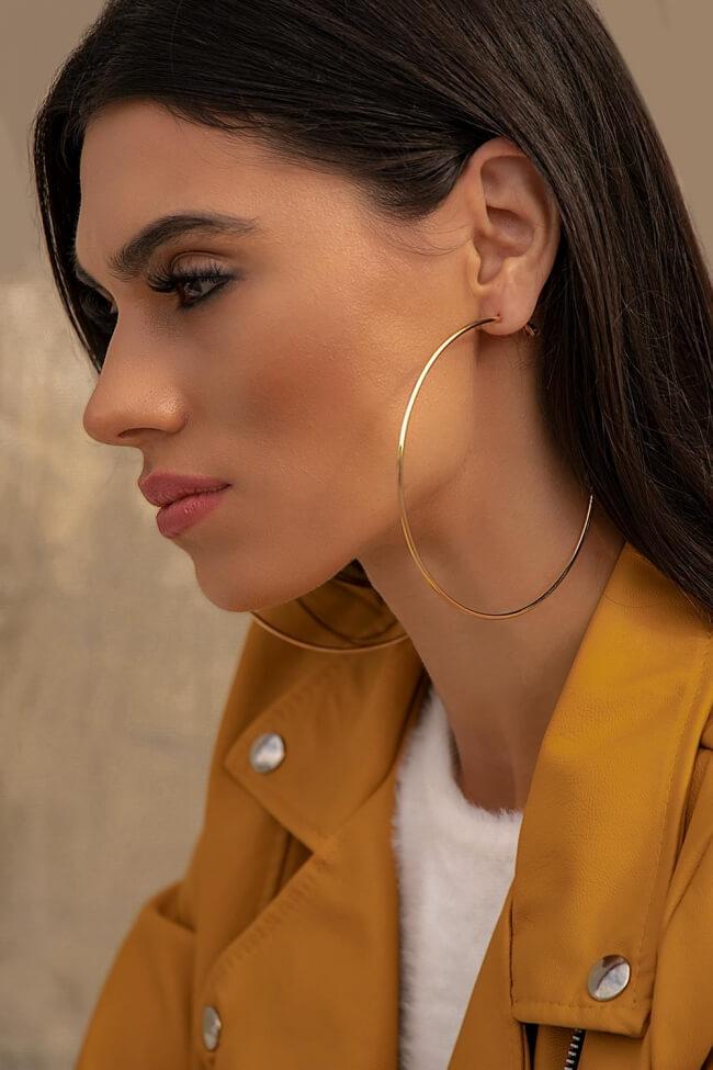 Σκουλαρίκια Κρίκοι XLarge