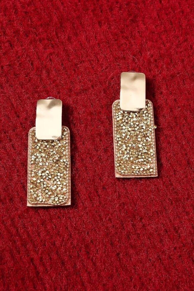 Σκουλαρίκια με Strass