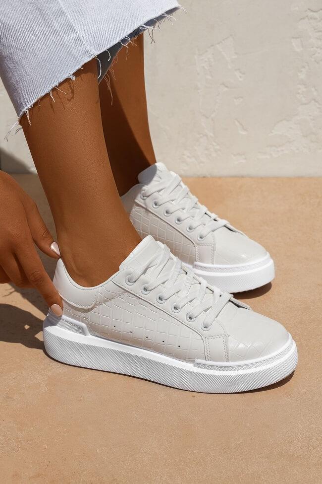 Sneakers Δίσολα Croco