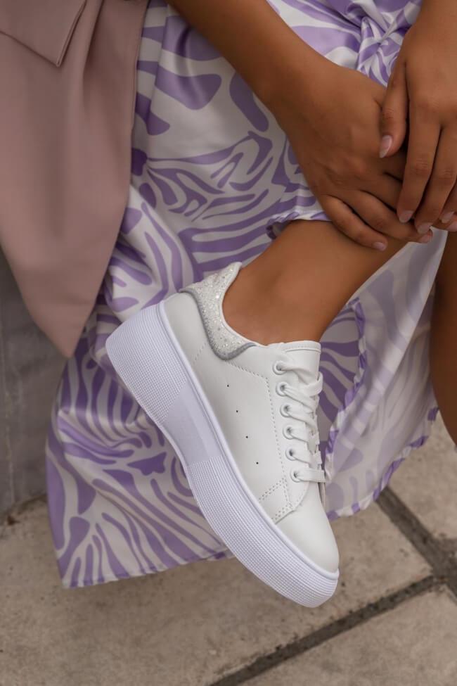 Sneakers Δίσολα με Glitter