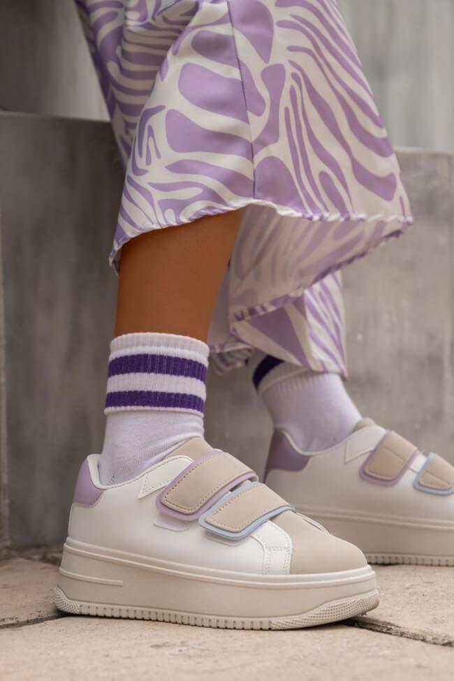 Sneakers Δίσολα με Scratch
