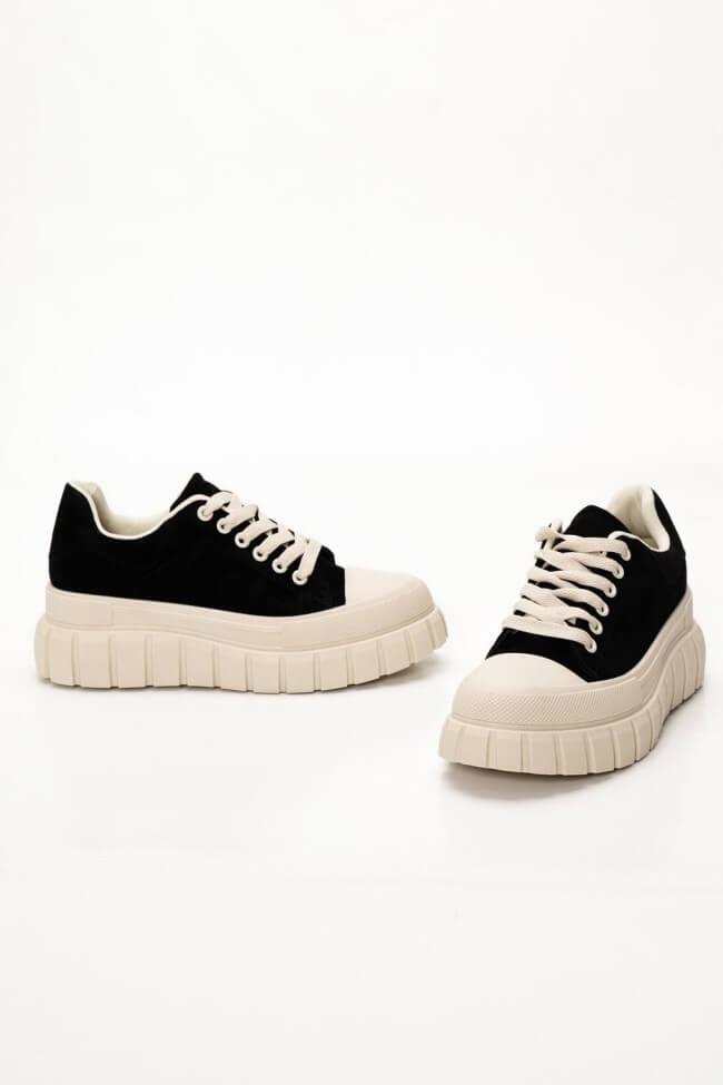 Sneakers Δίσολα με Τρακτερωτή Σόλα