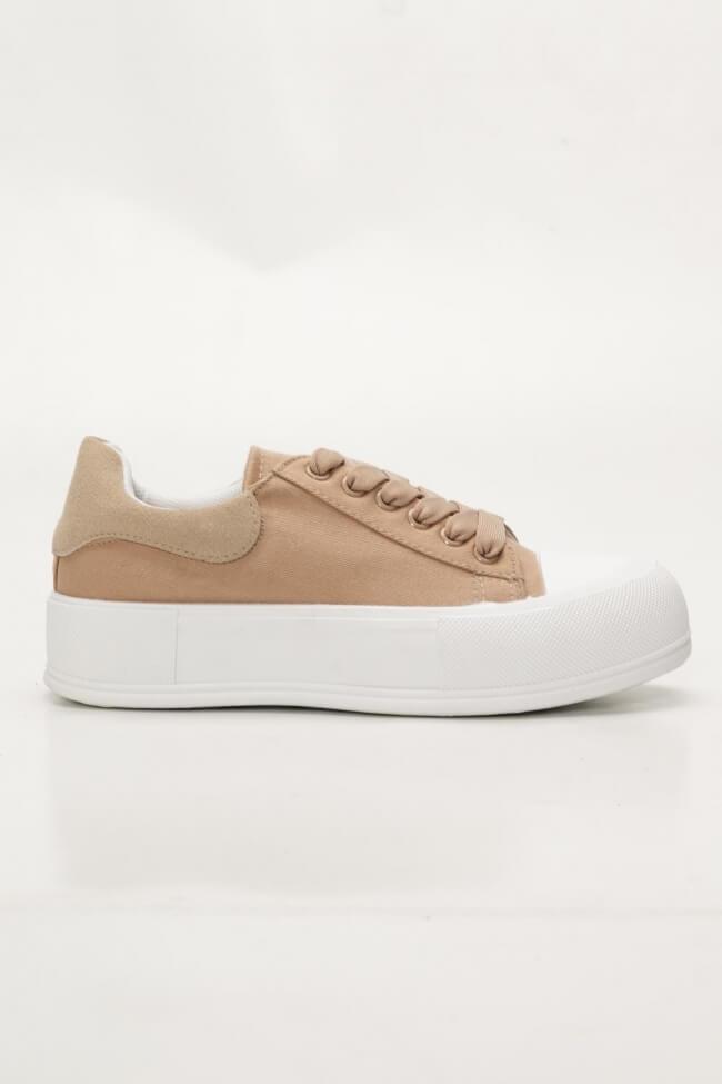 Sneakers Δίσολα Πάνινα
