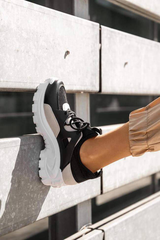Sneakers Κάλτσα σε Συνδυασμό Χρωμάτων