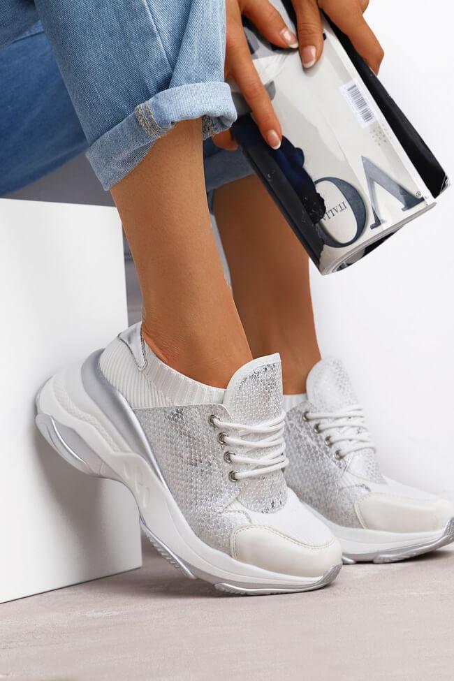 Sneakers Κάλτσα Snake Print