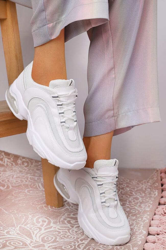 Sneakers με Αερόσολα & Δίχτυ