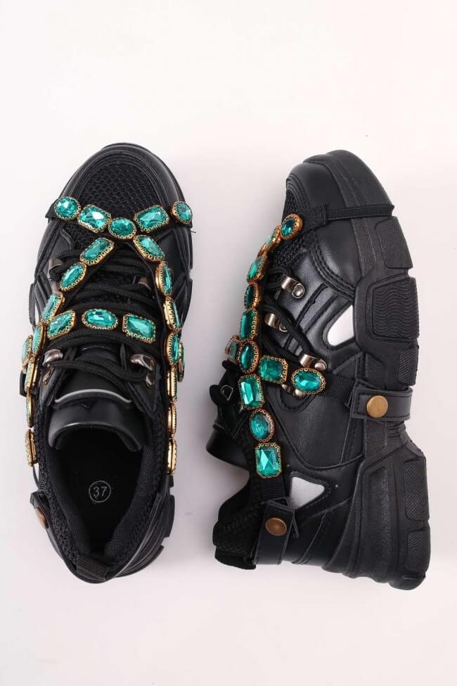 Sneakers με Αφαιρούμενο Διακοσμητικό