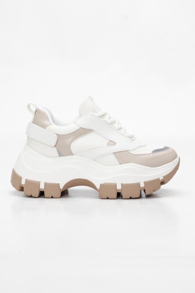 Sneakers με Δίχρωμη Σόλα