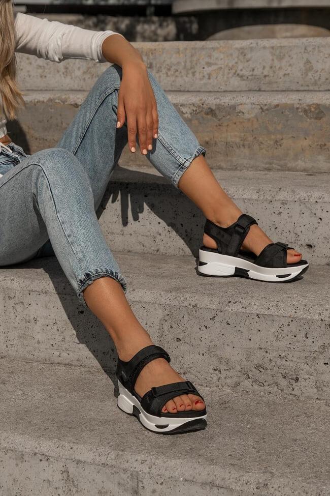 Sneakers Sandals με Λουράκια & Scratch