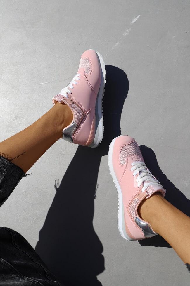Sneakers με Πλατφόρμα & Δίχτυ