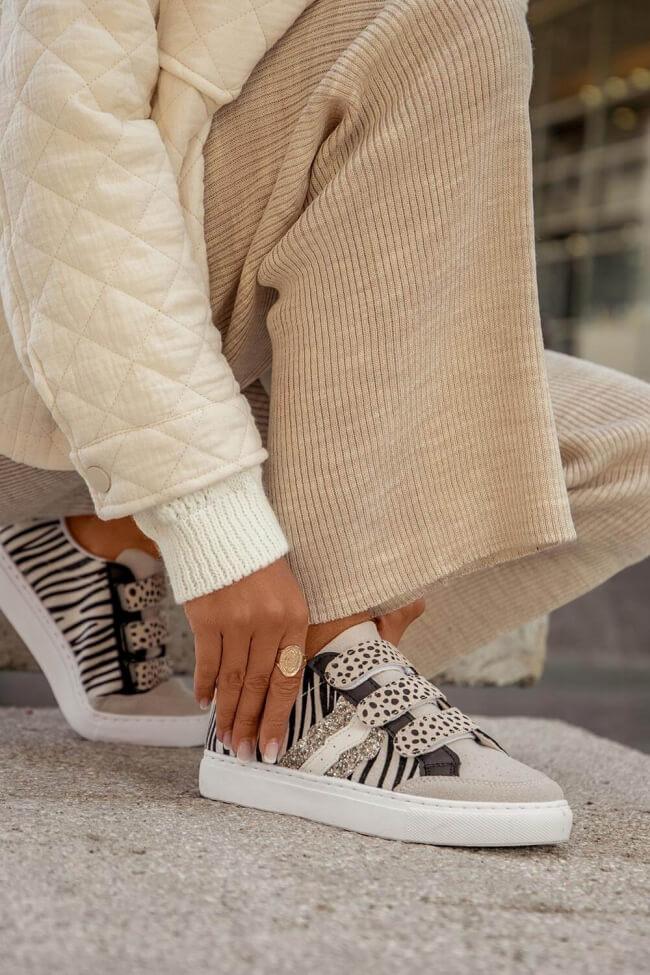 Sneakers με Scratch & Glitter