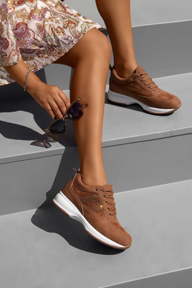 Sneakers με Strass