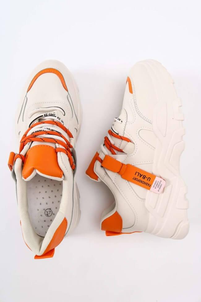 Sneakers με Συνδυασμό Χρωμάτων