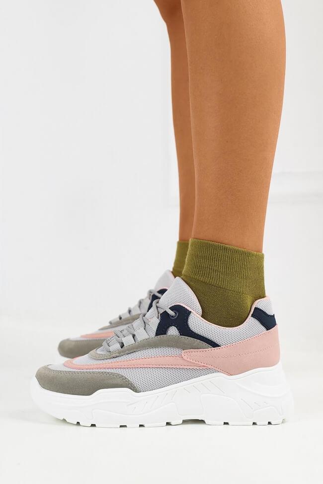 Sneakers Μονόχρωμα