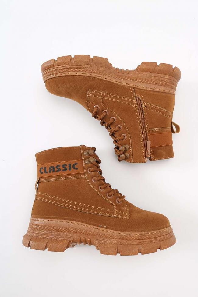 Sneakers Μποτάκια Καστώρ