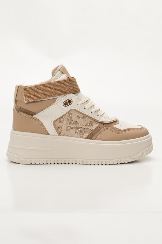 Sneakers Μποτάκια με Λουράκι Scratch