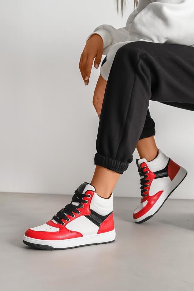 Sneakers Μποτάκια σε Συνδυασμό Χρωμάτων