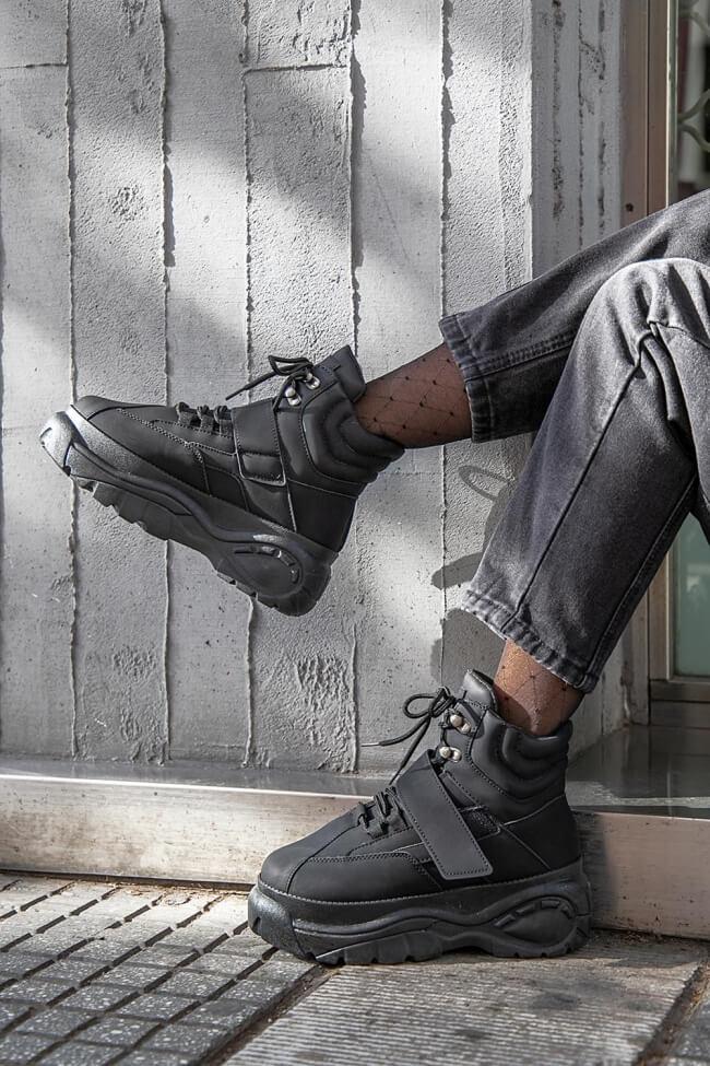 Sneakers Μποτάκια Ultra Sole με Scratch