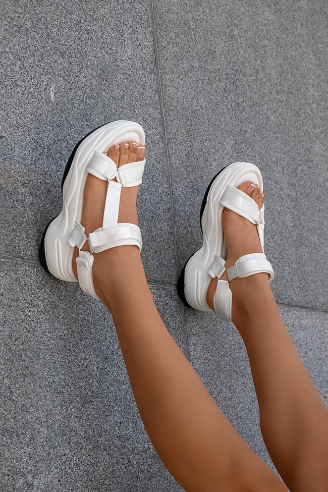 Sneakers Sandals με Λουράκια & Scratch