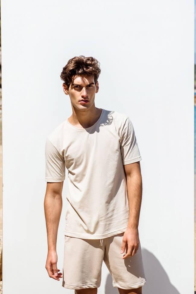 T-Shirt Ανδρικό Μονόχρωμο