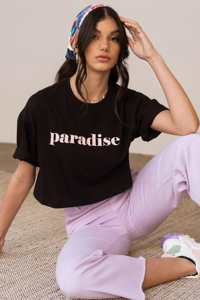 T-Shirt Crop Paradise