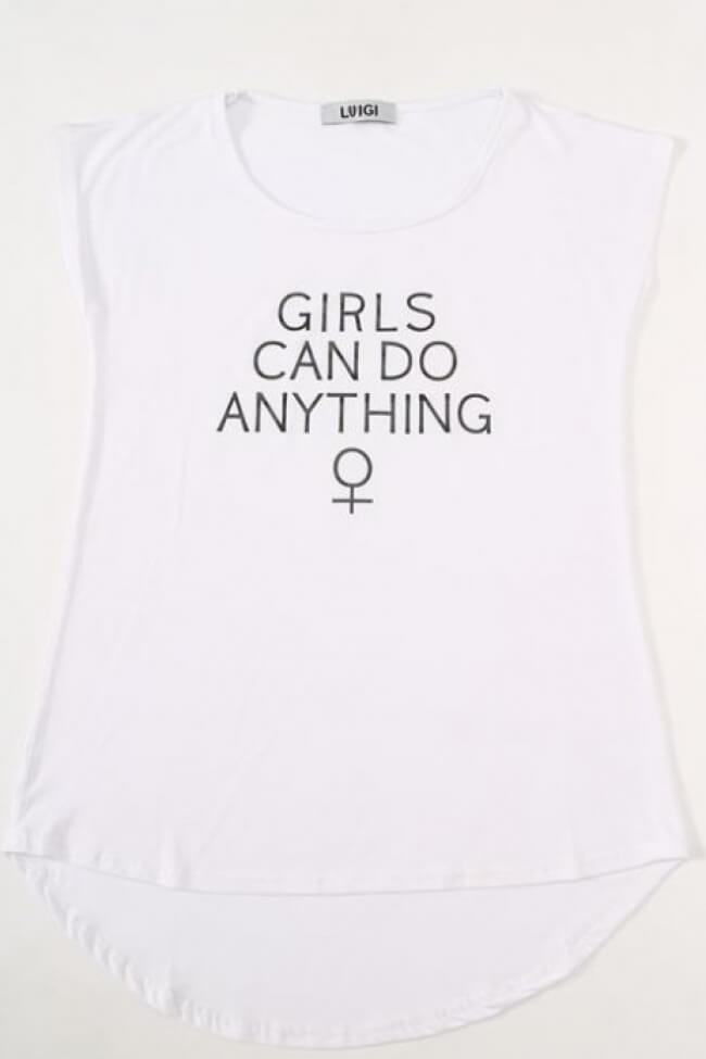 T-Shirt με Κείμενο
