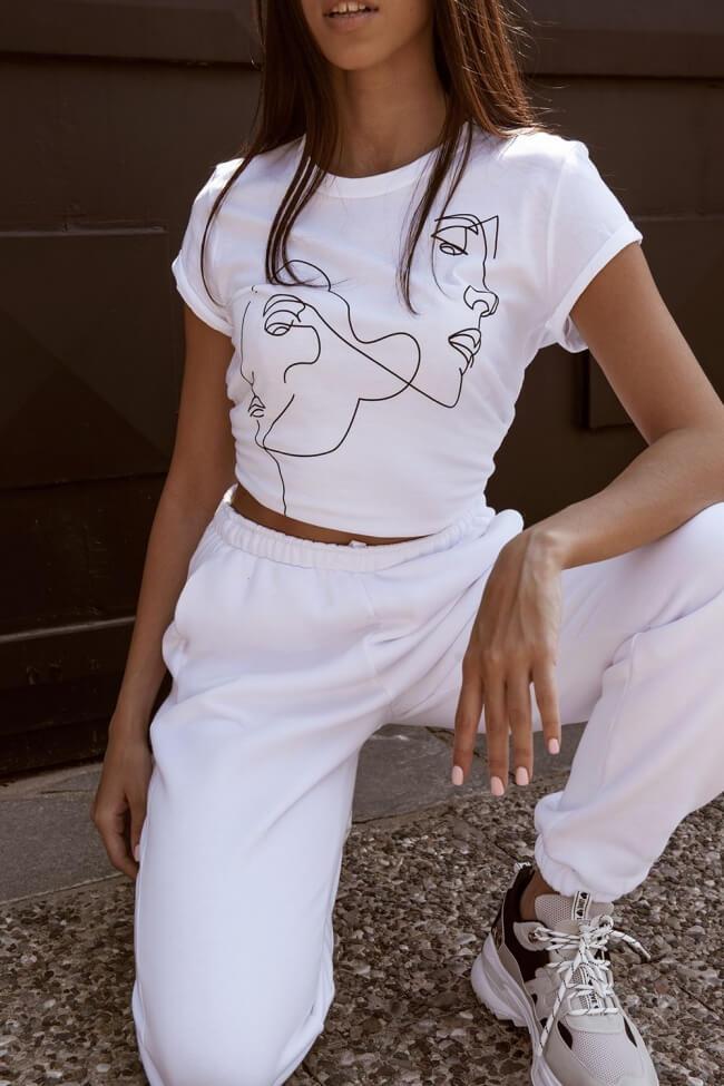 T-Shirt με Τύπωμα