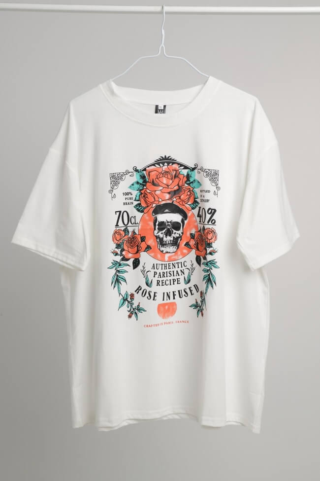 T-Shirt Rose Infused