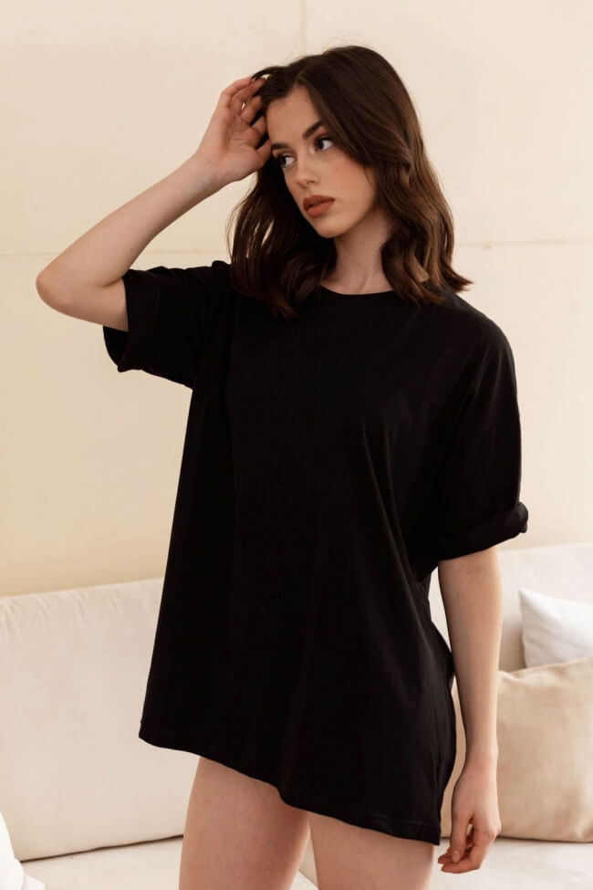 T-Shirt Βαμβακερό Oversized