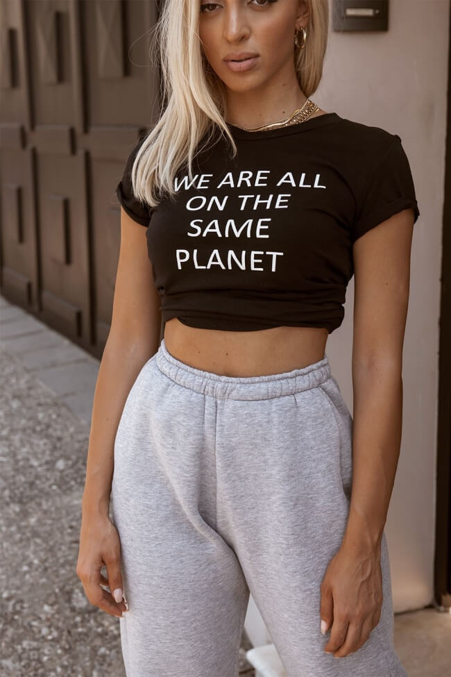 T-Shirt We Are All On The Same Planet