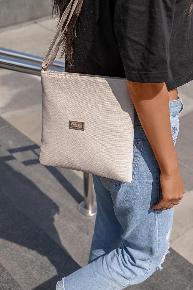 Τσάντα Messenger Υφασμάτινη