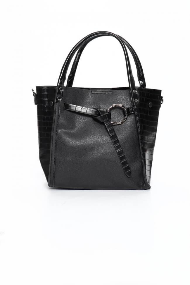 Τσάντα Ώμου με Κόμπο