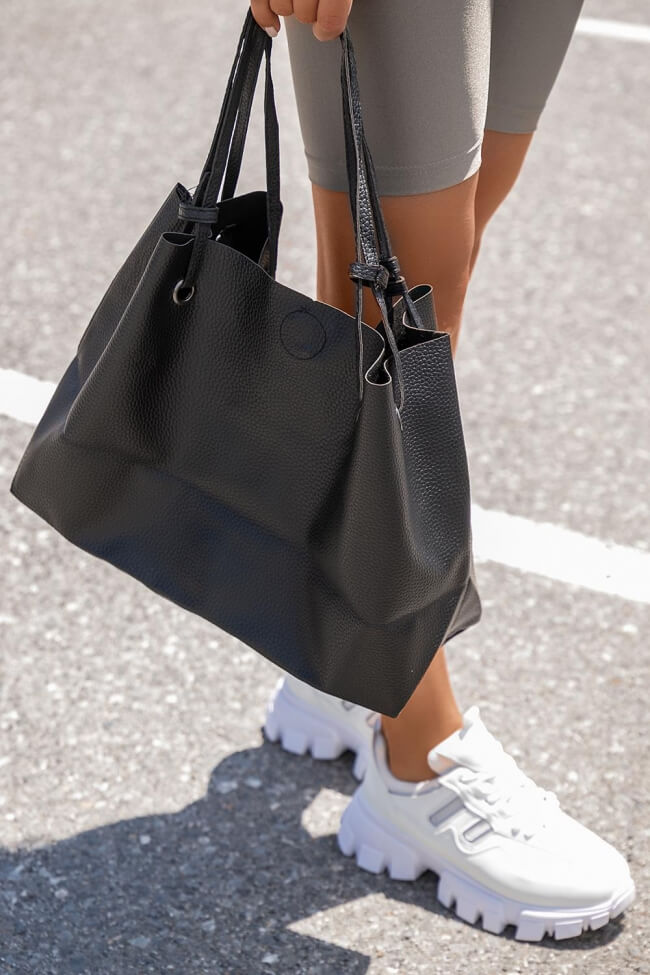 Τσάντα Ώμου με Πορτοφόλι
