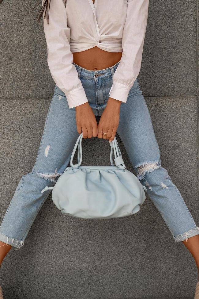 Τσάντα Χειρός με Σούρα